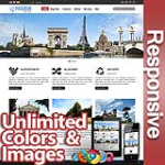 Poseidon FireBrick Red - Responsive Skin - Bootstrap - 6 Free Modules - Skin Customizer - Mega Menu